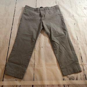 Banana Republic Sloan Ankle Pants Light Gray 12